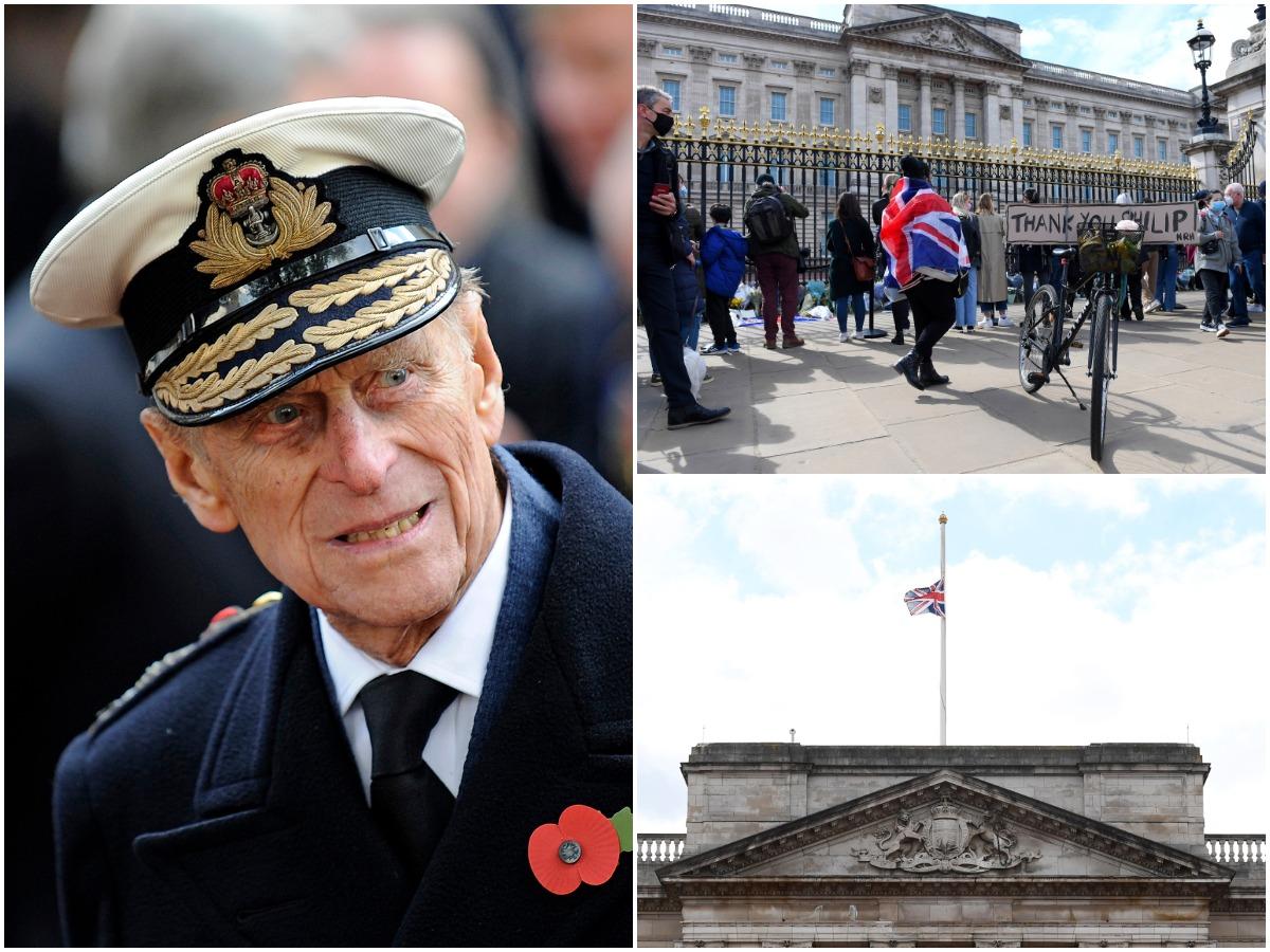 Πρίγκιπας Φίλιππος: Κοσμοσυρροή έξω από το Παλάτι μετά τον θάνατό του! Πότε θα γίνει η κηδεία; Φωτογραφίες