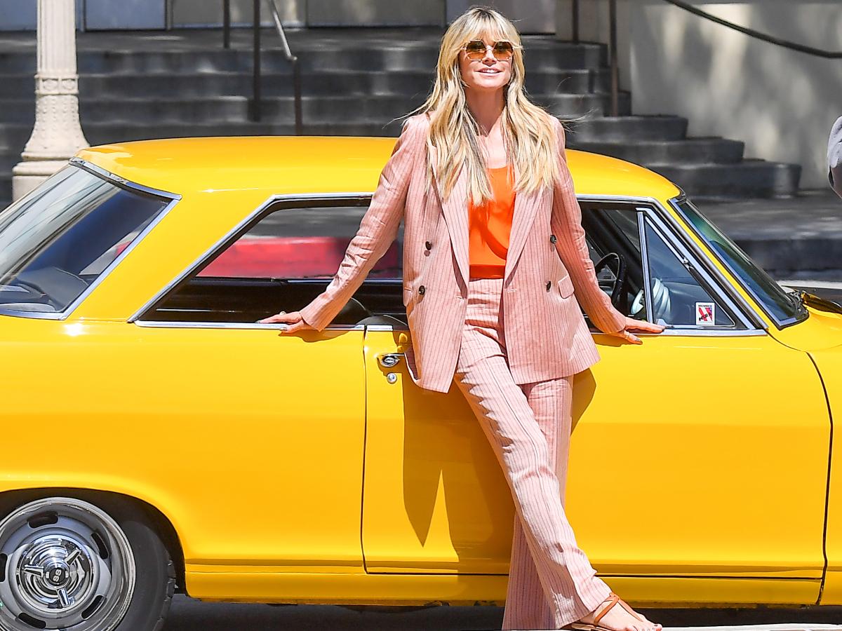 Δες πως φόρεσε η Ηeidi Klum ένα από τα πιο δύσκoλα trend της σεζόν
