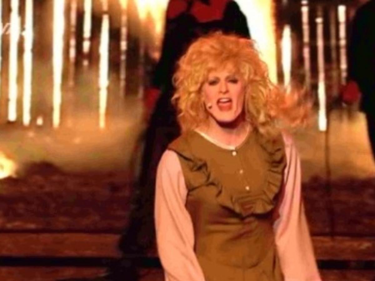 YFSF: Έβαλε φωτιά στη σκηνή ως Bonnie Τyler ο Ίαν Στρατής