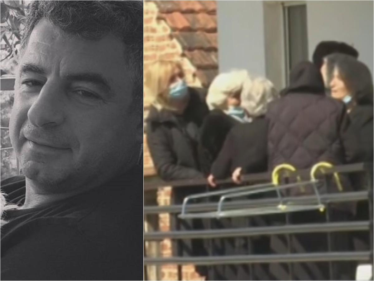 Γιώργος Καραϊβάζ: Σε κλίμα οδύνης η ιδιαίτερη πατρίδα του - Στο σπίτι της μητέρας του συγχωριανοί και φίλοι