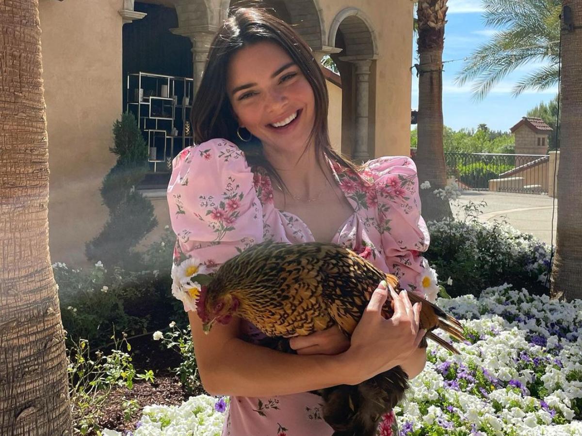Zηλέψαμε το floral φόρεμα της Kendall Jenner