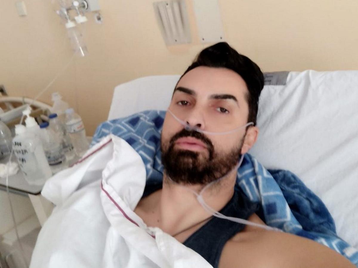 """Κωνσταντίνος Μενούνος: Νοσηλεύεται στο Τζάνειο με κορονοϊό – """"Δεν είχα οξυγόνο"""" λέει στο ΤLIFE μέσα από το νοσοκομείο"""