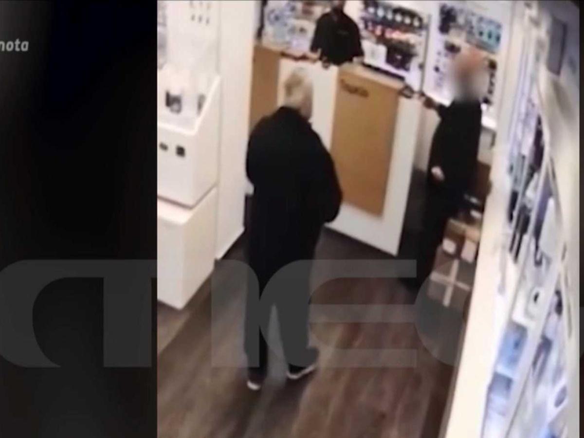 Σοκάρει το βίντεο ντοκουμέντο – Η στιγμή που ο 72χρονος πυροβολεί στο κατάστημα τον 39χρονο