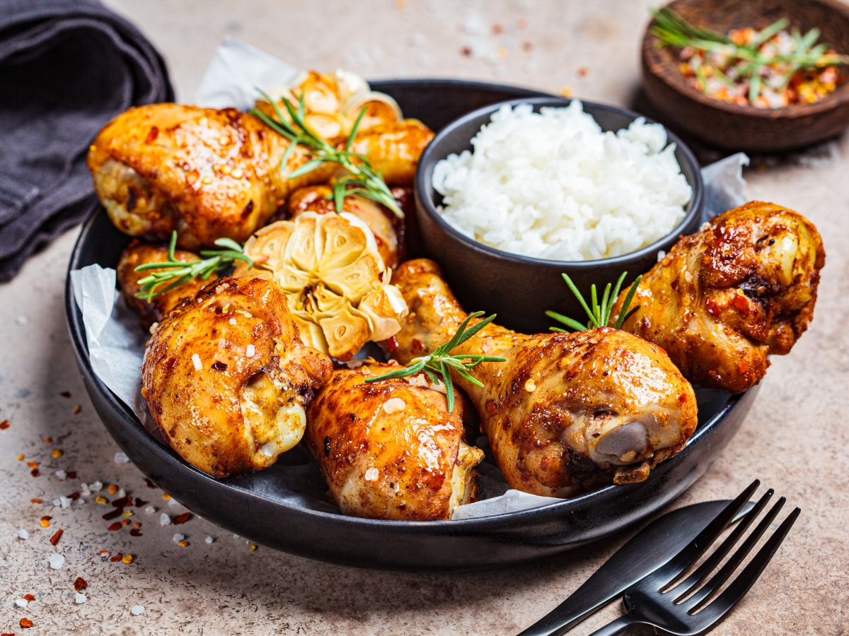 Συνταγή για πικάντικα μπουτάκια κοτόπουλου