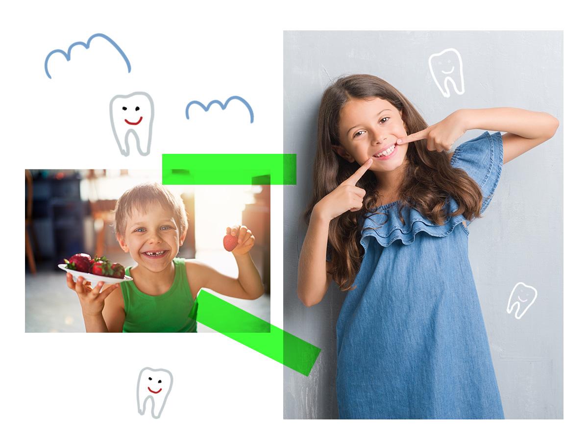 Οι τροφές που κρατούν υγιή τα δόντια του παιδιού σου