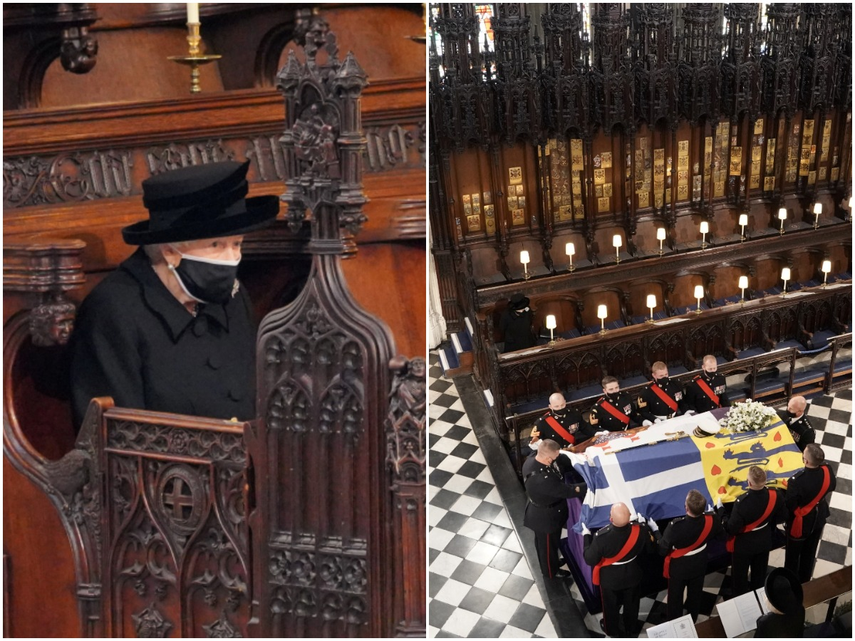 Πρίγκιπας Φίλιππος: Όλα όσα έγιναν στην κηδεία του – Συντετριμμένη η βασίλισσα Ελισάβετ