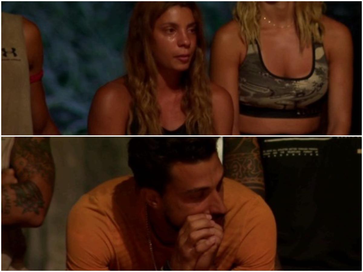 "Survivor: ""Έκλαψε"" και το twitter με τα δάκρυα της Μαριαλένας για το χωρισμό της από τον Σάκη"
