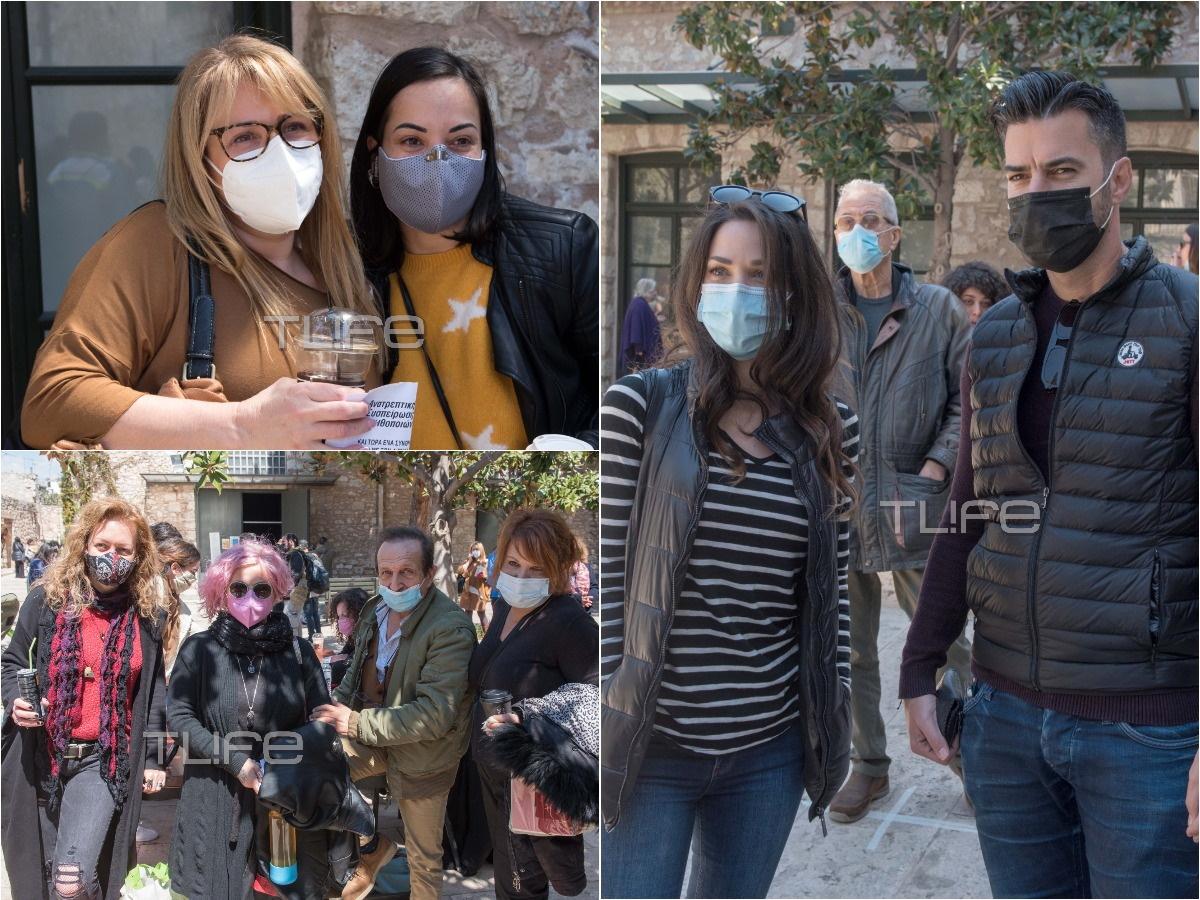 Οι Έλληνες ηθοποιοί στην πρώτη γενική συνέλευση του ΣΕΗ, μετά τις καταγγελίες – Φωτογραφίες του TLIFE