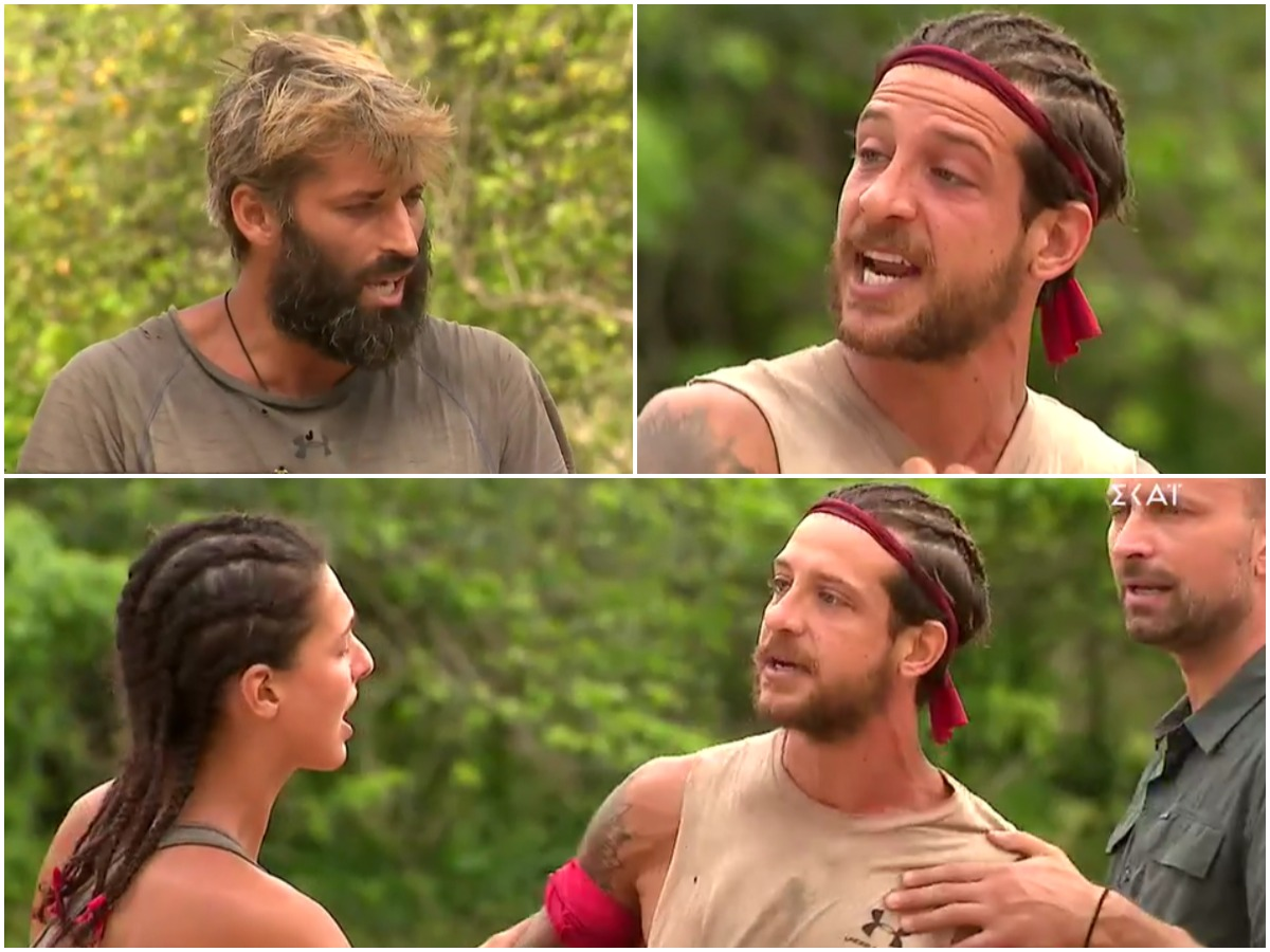 "Survivor: Έξω φρενών ο Μπόγδανος με τον Παππά – ""Είσαι μηδενικό, σκουπίδι"" – Παρενέβη ο Λιανός"