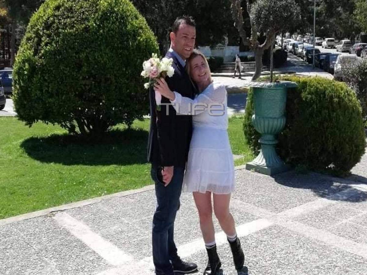 Βαλεντίνη Ράντη: Παντρεύτηκε τον αγαπημένο της  λίγο πριν γίνει μανούλα – Οι φωτογραφίες έξω από το δημαρχείο