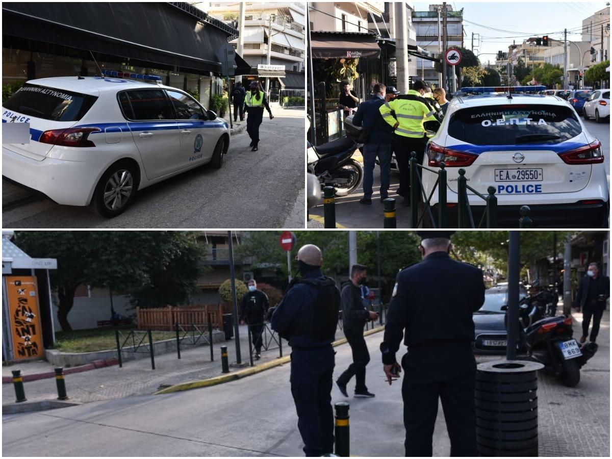 """""""Αστακός"""" η Βεάκη μετά τα κορονοπάρτι – Φωτορεπορτάζ από τις ισχυρές αστυνομικές δυνάμεις στην περιοχή"""