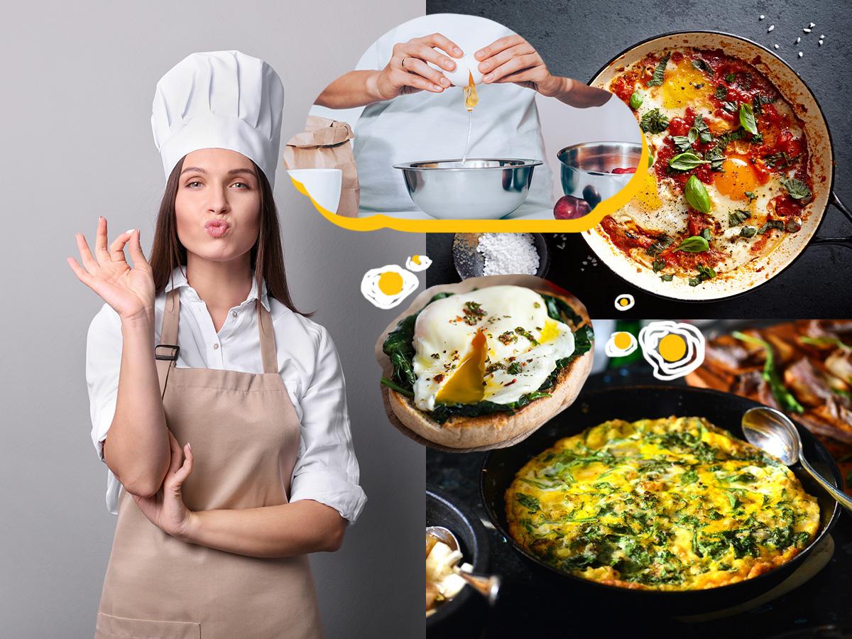 Αβγά: 5 χορταστικές συνταγές με λίγες θερμίδες και πολλή πρωτεΐνη
