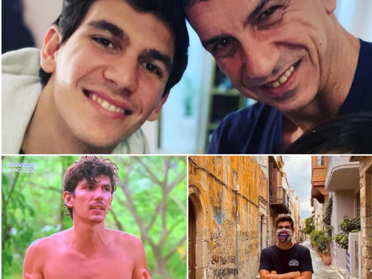 Survivor: Αποχώρησε ο Παύλος Γαλακτερός – Η σχέση αγάπης με τον πατέρα του, η Νάνσυ Ζαμπέτογλου και οι προσωπικές φωτογραφίες