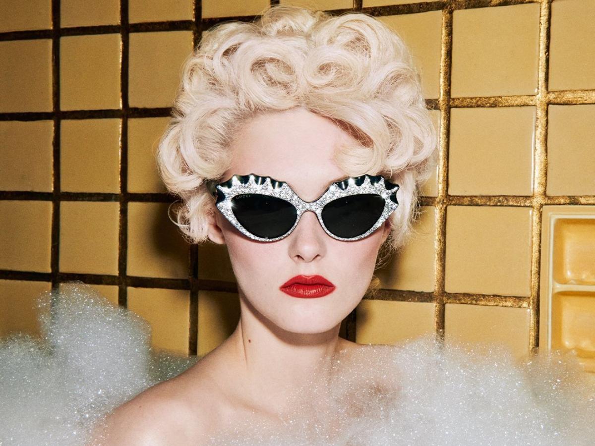 H νέα συλλογή γυαλιών της Gucci έχει vintage γοητεία