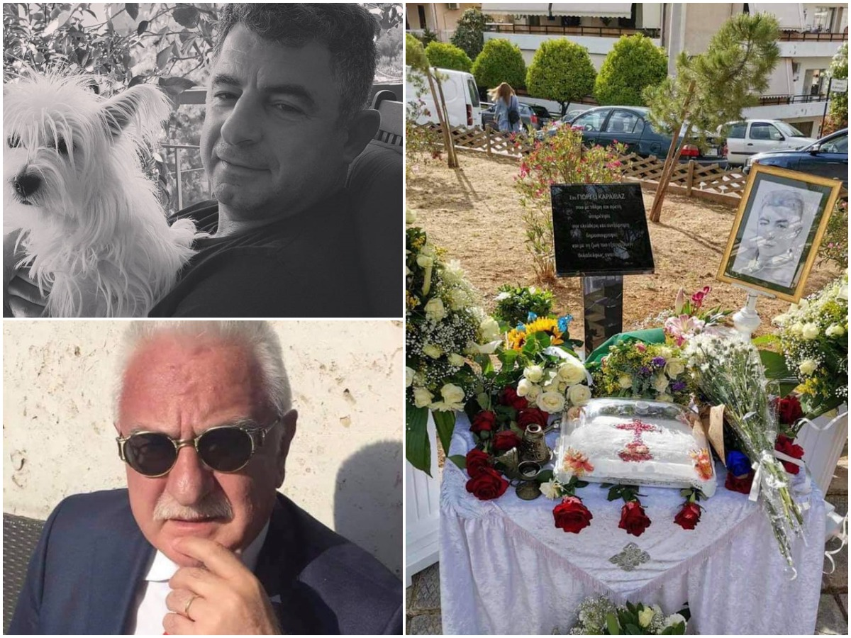 """Γιώργος Καραϊβάζ: Συγκινεί ο Γιώργος Τσούκαλης από το σημείο της δολοφονίας του – """"Αρνούμαστε να δεχτούμε τη φυγή σου"""""""
