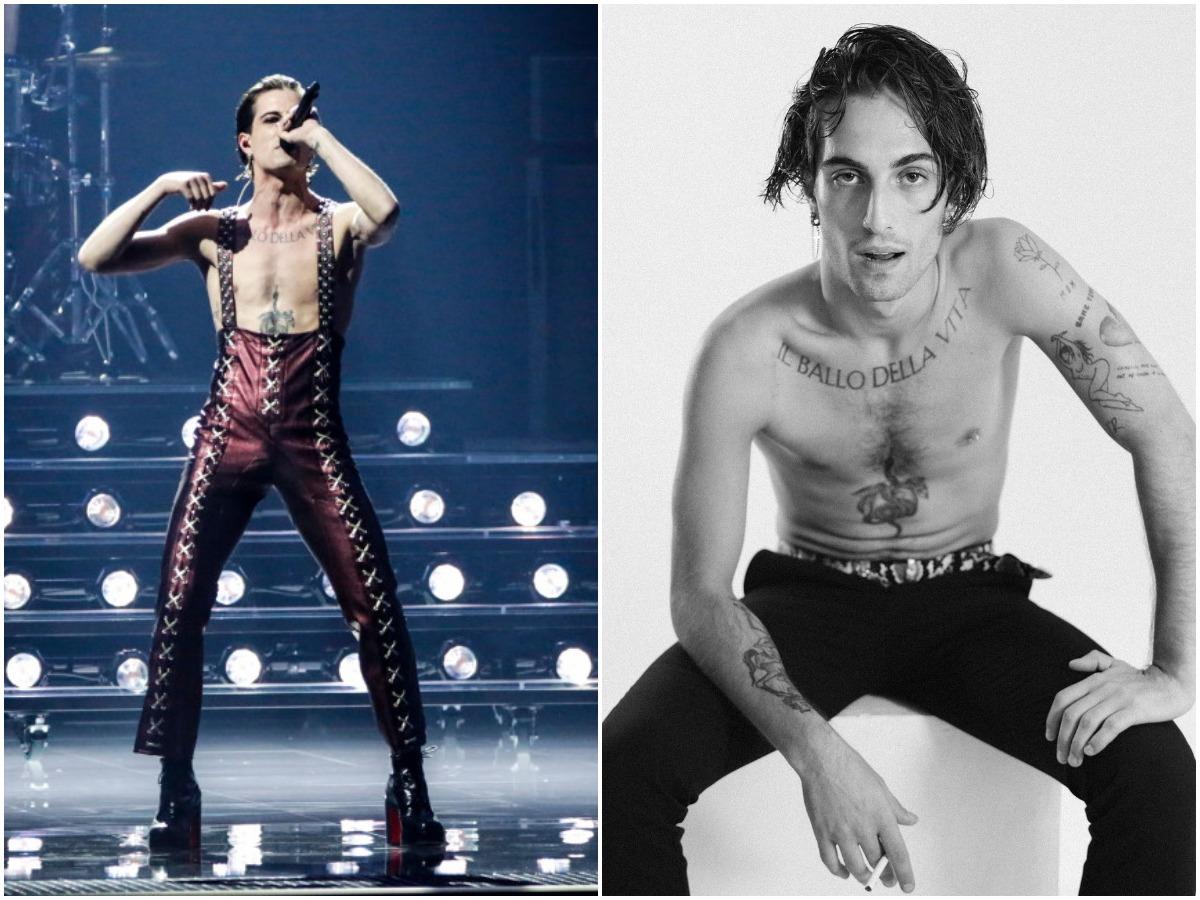 Eurovision 2021: Ποιος είναι ο Ιταλός ροκάς με τα μαύρα νύχια που ξεσήκωσε το Ρότερνταμ και το διαδίκτυο