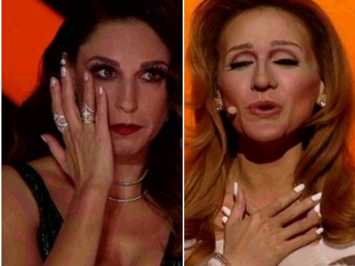YFSF: Kαθήλωσε η Τάνια Μπρεάζου με την εμφάνισή της στον τελικό ως Celine Dion