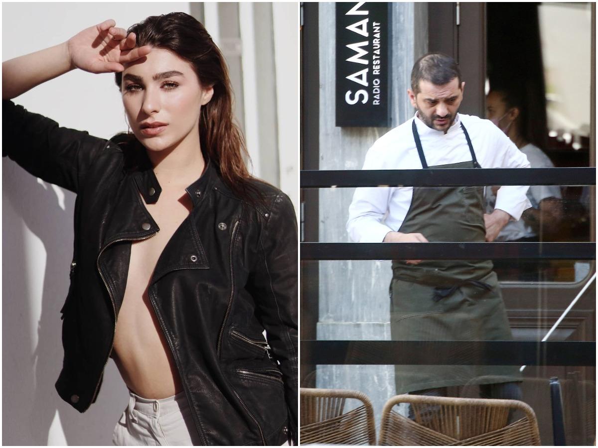 Χρύσα Μιχαλοπούλου: Για δείπνο στο εστιατόριο του αγαπημένου της Λεωνίδα Κουτσόπουλου!