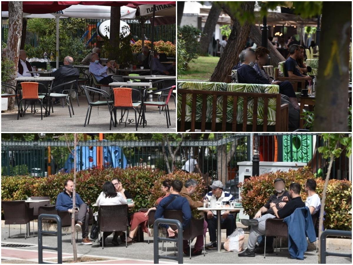 Άνοιξαν καφετέριες και εστιατόρια – Οι Αθηναίοι πίνουν τον πρώτο τους καφέ – TLIFE φωτορεπορτάζ