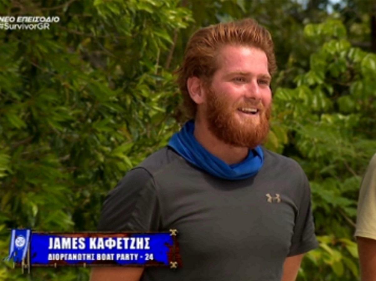 Survivor: Ο Τζέιμς Καφετζής είναι ερωτευμένος και μιλά πρώτη φορά για το (πρώην) κορίτσι του