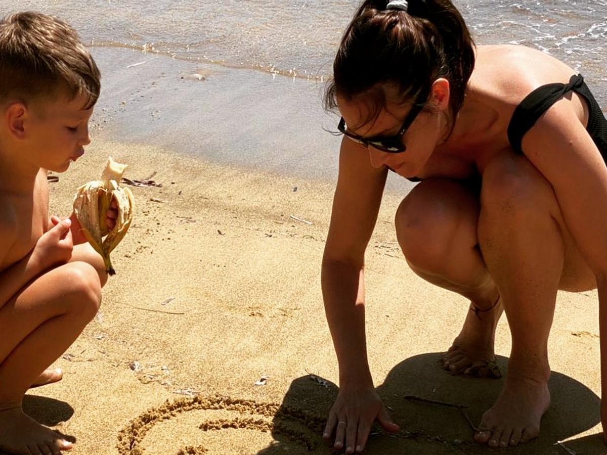 Κάτια Ζυγούλη: Μας δείχνει τα παιδιά της να παίζουν στον επίγειο παράδεισό της στο Μουζάκι