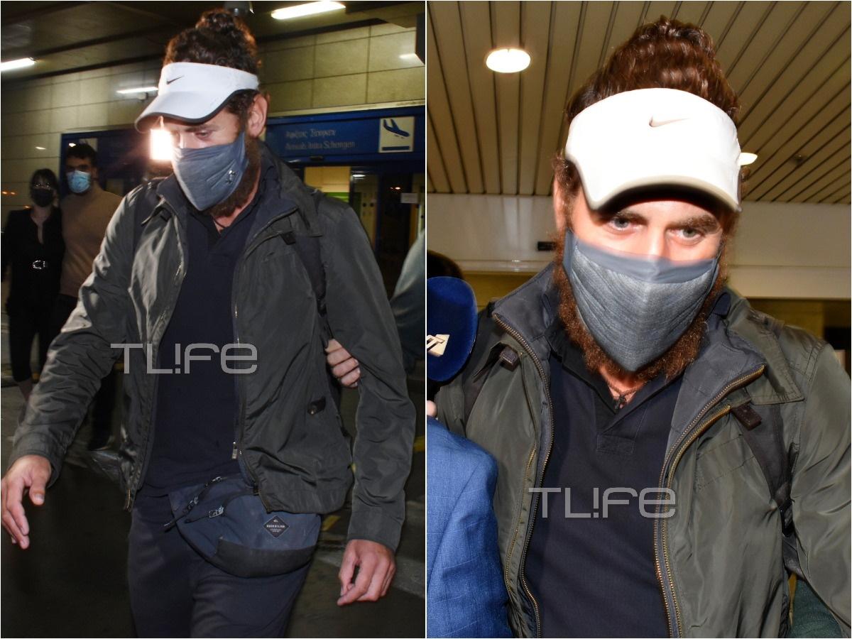 Κώστας Παπαδόπουλος: Επέστρεψε στην Ελλάδα μετά το Survivor – Φωτορεπορτάζ του TLIFE από το αεροδρόμιο