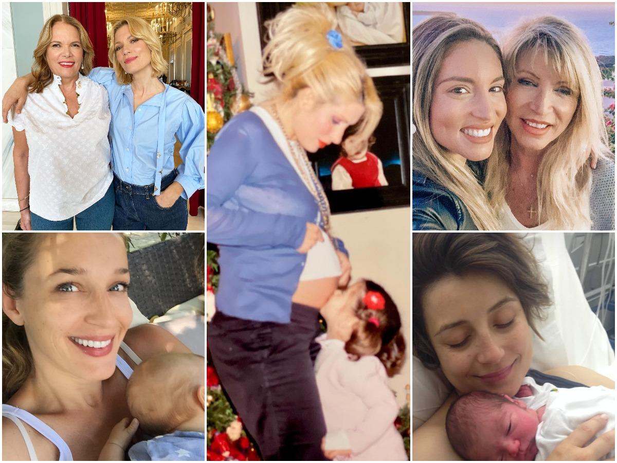 Γιορτή της Μητέρας: Τα social media έχουν πλημμυρίσει με ευχές – Οι Έλληνες celebrities ποζάρουν με τις μητέρες τους
