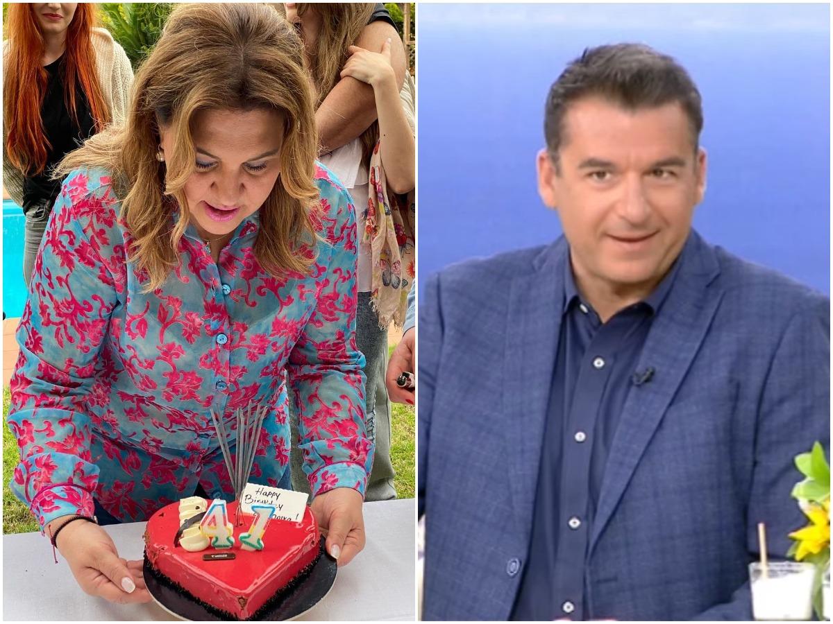 Δέσποινα Μοιραράκη: Η πραγματική της ηλικία, μετά την τούρτα με τα 41 κεράκια! Ο Λιάγκας έκανε την αποκάλυψη