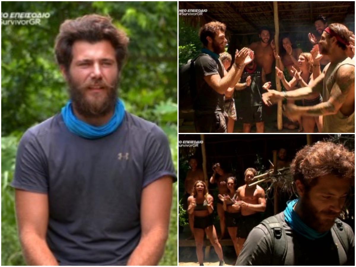 Survivor – Νίκος Μπάρτζης: Ο συγκινητικός αποχαιρετισμός του και η αποθέωση στο twitter