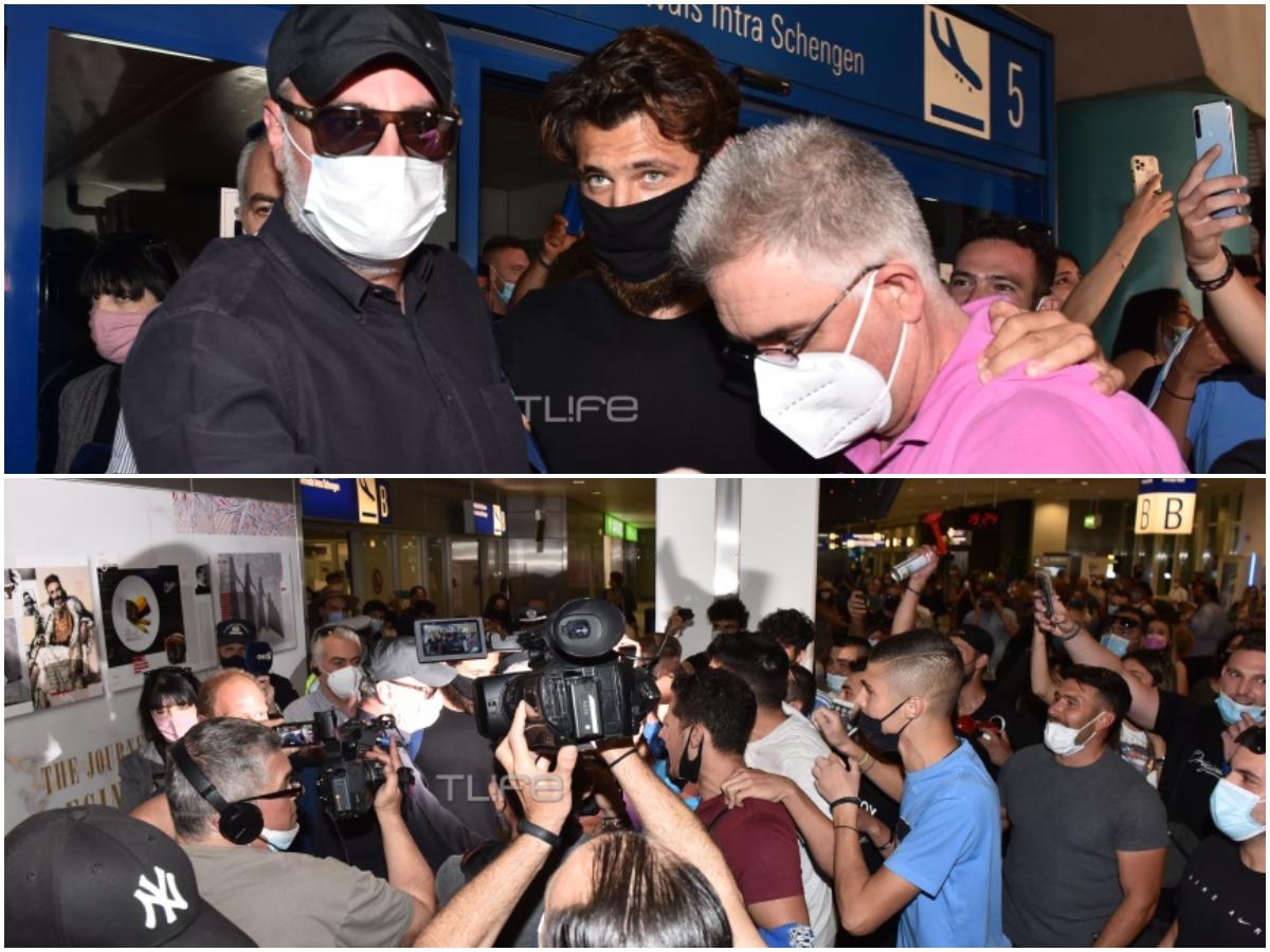 Survivor: Ο Νίκος Μπάρτζης επέστρεψε στην Ελλάδα – Πανζουρλισμός στο αεροδρόμιο για την υποδοχή του