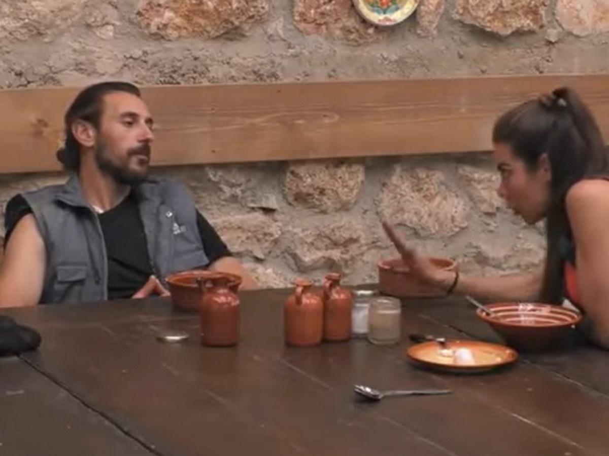 """Η Φάρμα: Ερωτικό καβγαδάκι Κυριακής και Ντούπη – """"Είπες στο πανελλήνιο ότι είμαι ανώριμος"""""""