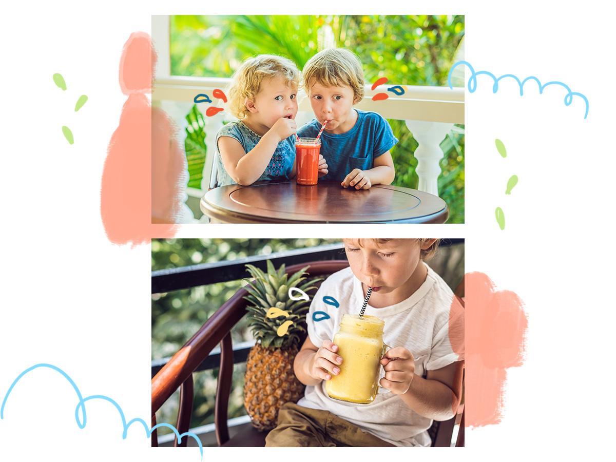 5 θρεπτικά smoothies για πρωινό ή πριν το σχολείο