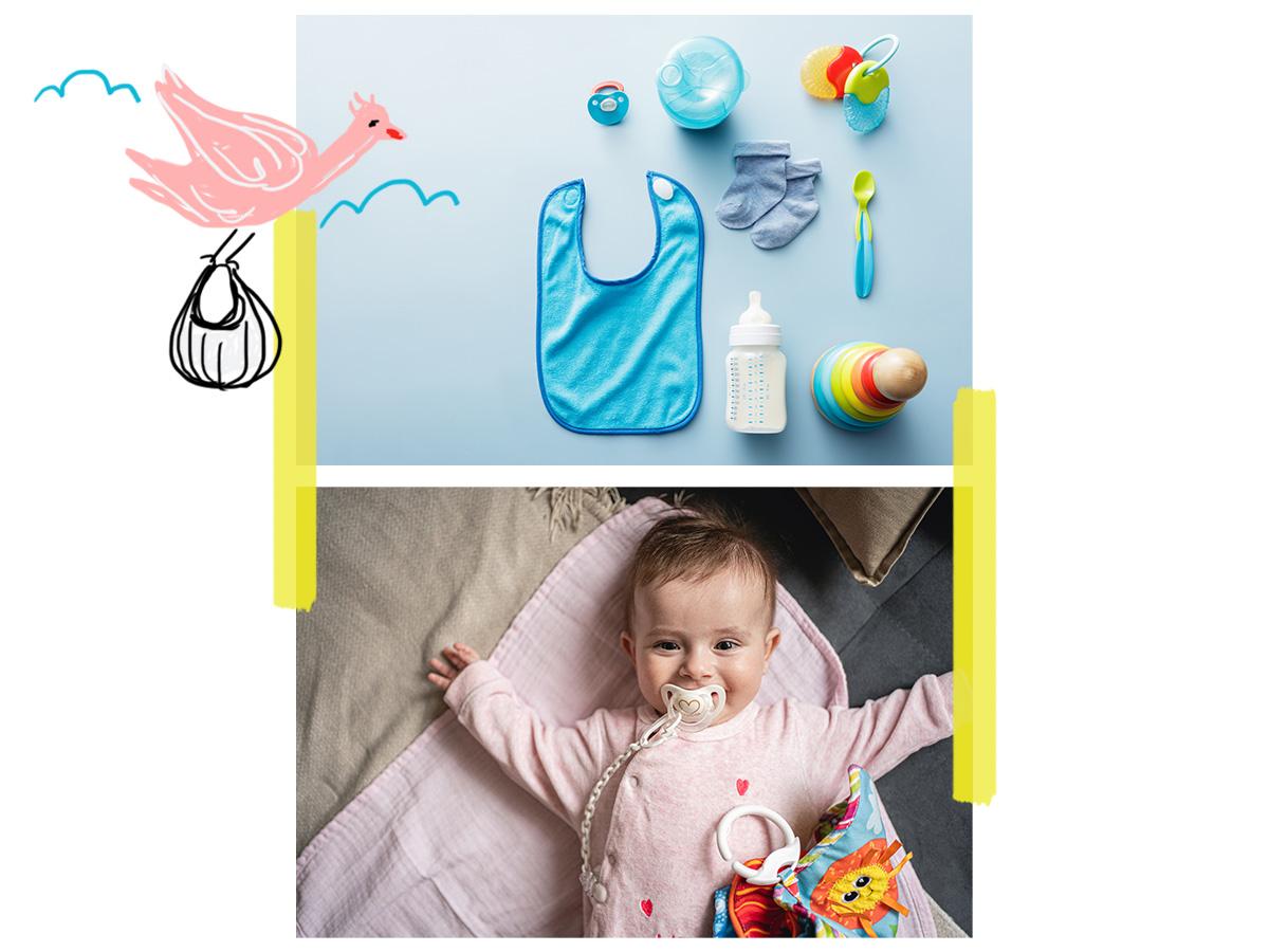 Νεογέννητο: Τα αντικείμενα που πρέπει να έχεις στο σπίτι πριν έρθει το μωρό