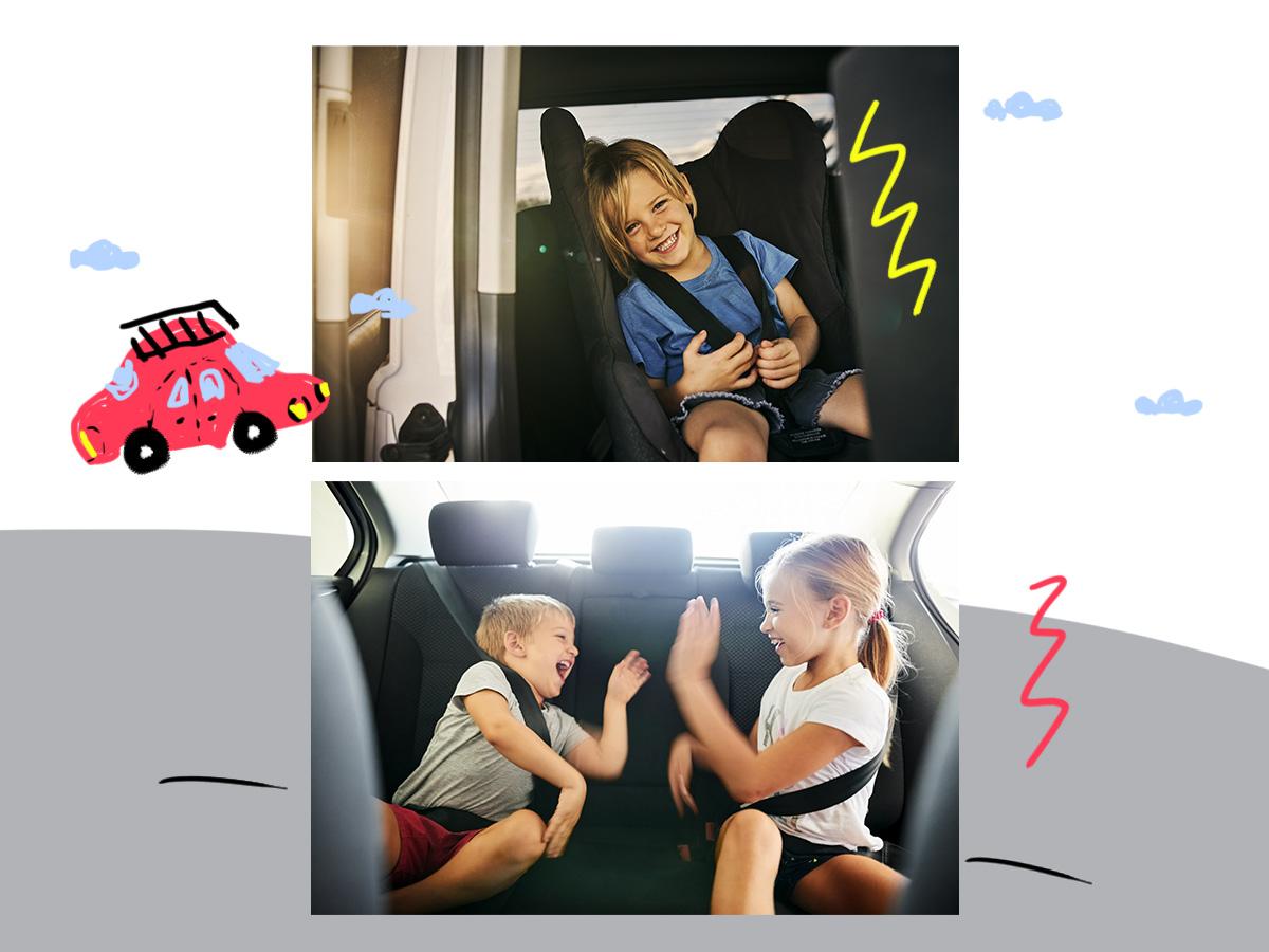 Ταξιδεύοντας με το αυτοκίνητο: Πώς θα κάνεις το παιδί σου να περάσει ευχάριστα