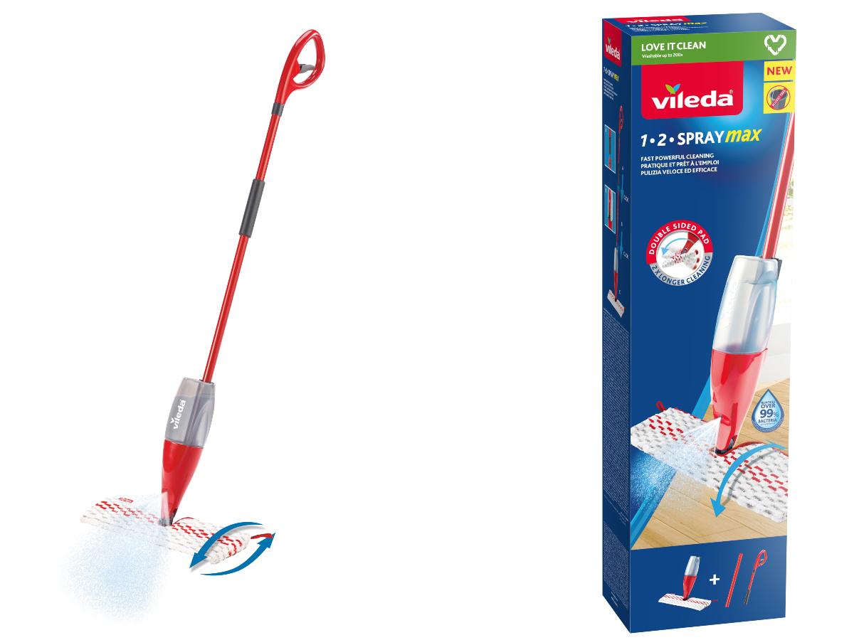 Προϊόν της χρονιάς στον καθαρισμό δαπέδου το Vileda 12 Spray Max