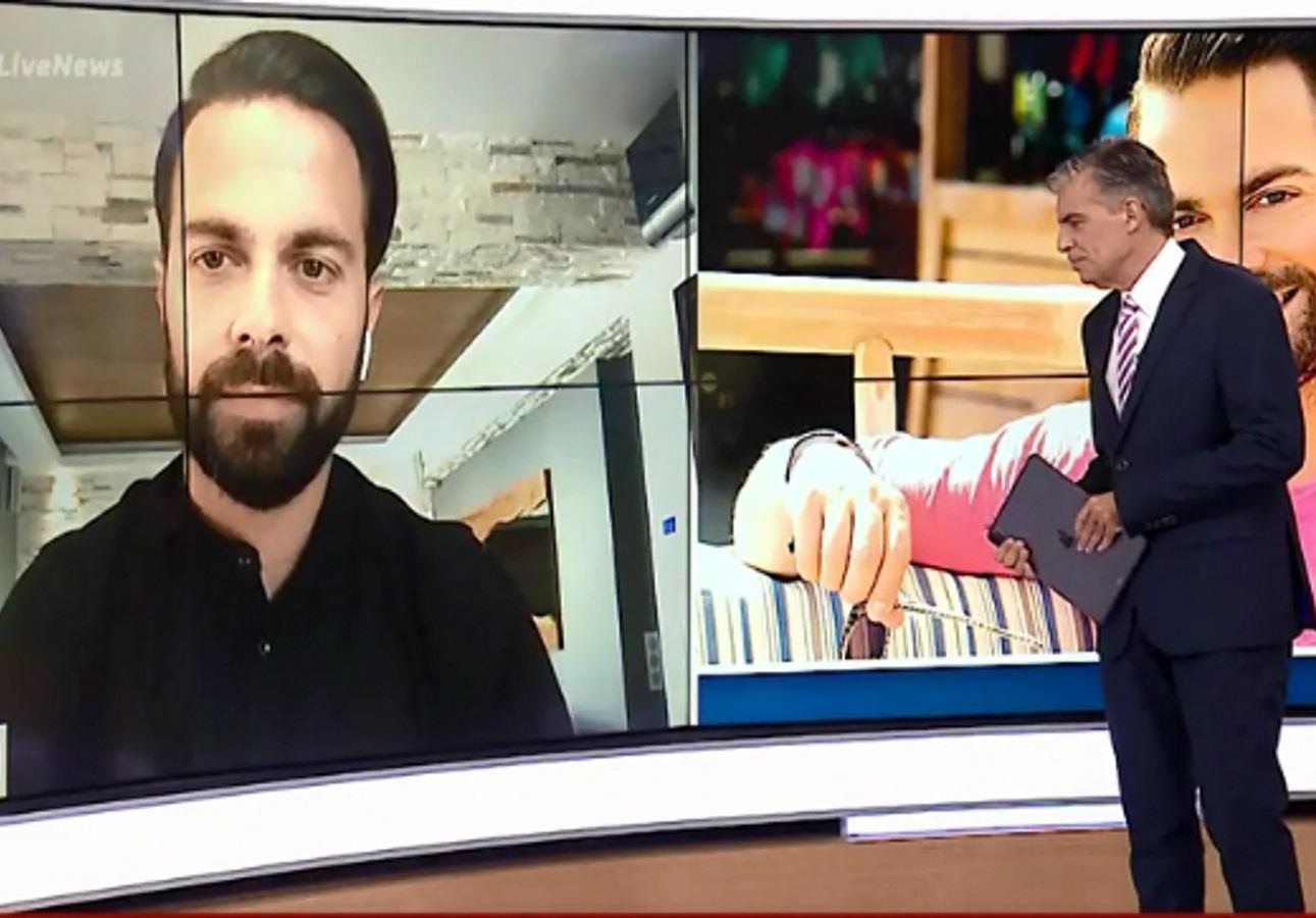 Ο Ηλίας Βρεττός έπεσε θύμα απάτης – Αποκαλύπτει στο Live news πώς του απέσπασαν μεγάλο χρηματικό ποσό