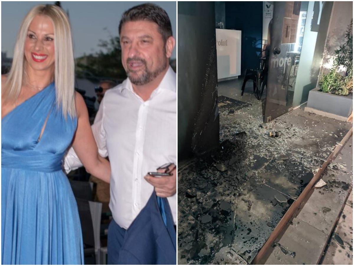 """Γιώτα Παναγιωτοπούλου: Η σύζυγος του Νίκου Χαρδαλιά απαντά για τις εμπρηστικές επιθέσεις – """"Δεν φοβόμαστε"""""""