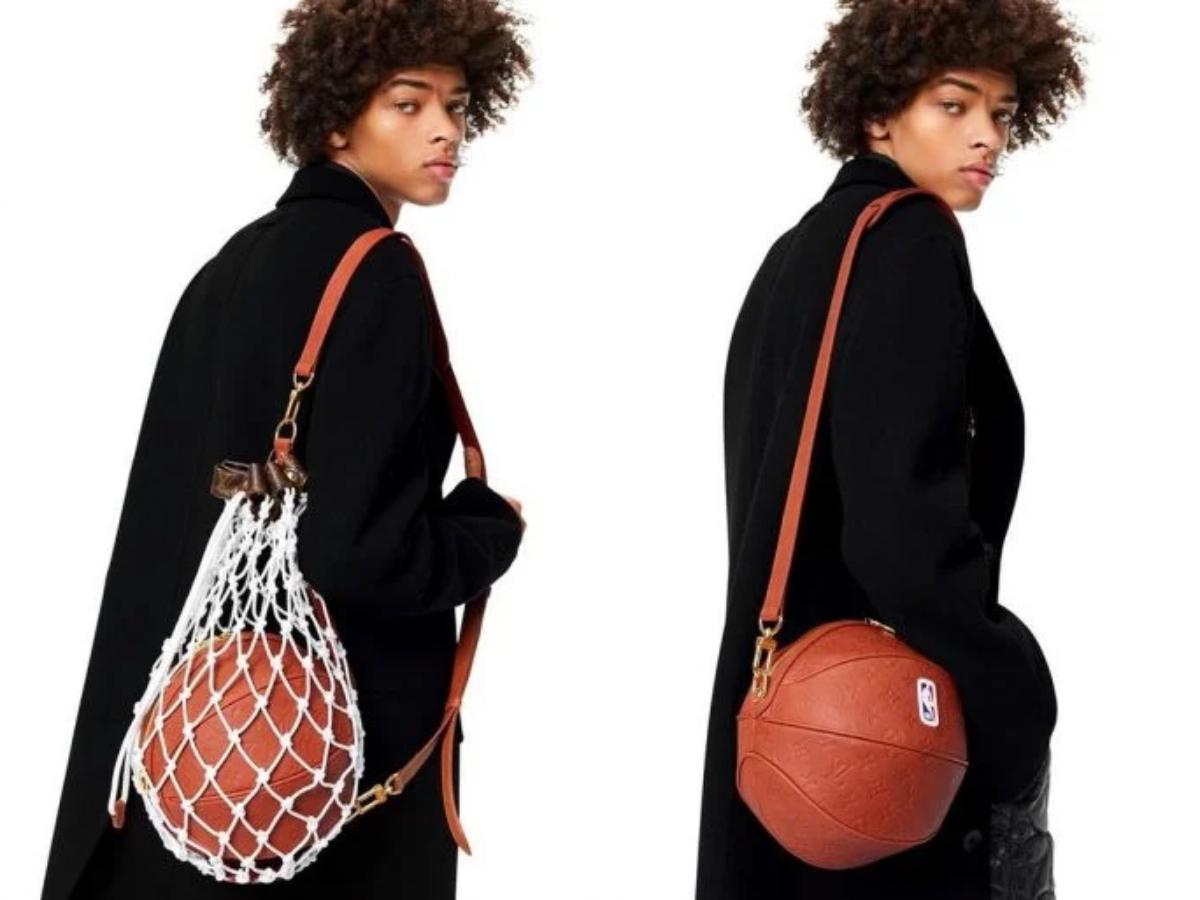 Η Louis Vuitton λανσάρει τσάντα σε σχήμα μπάλας του μπάσκετ