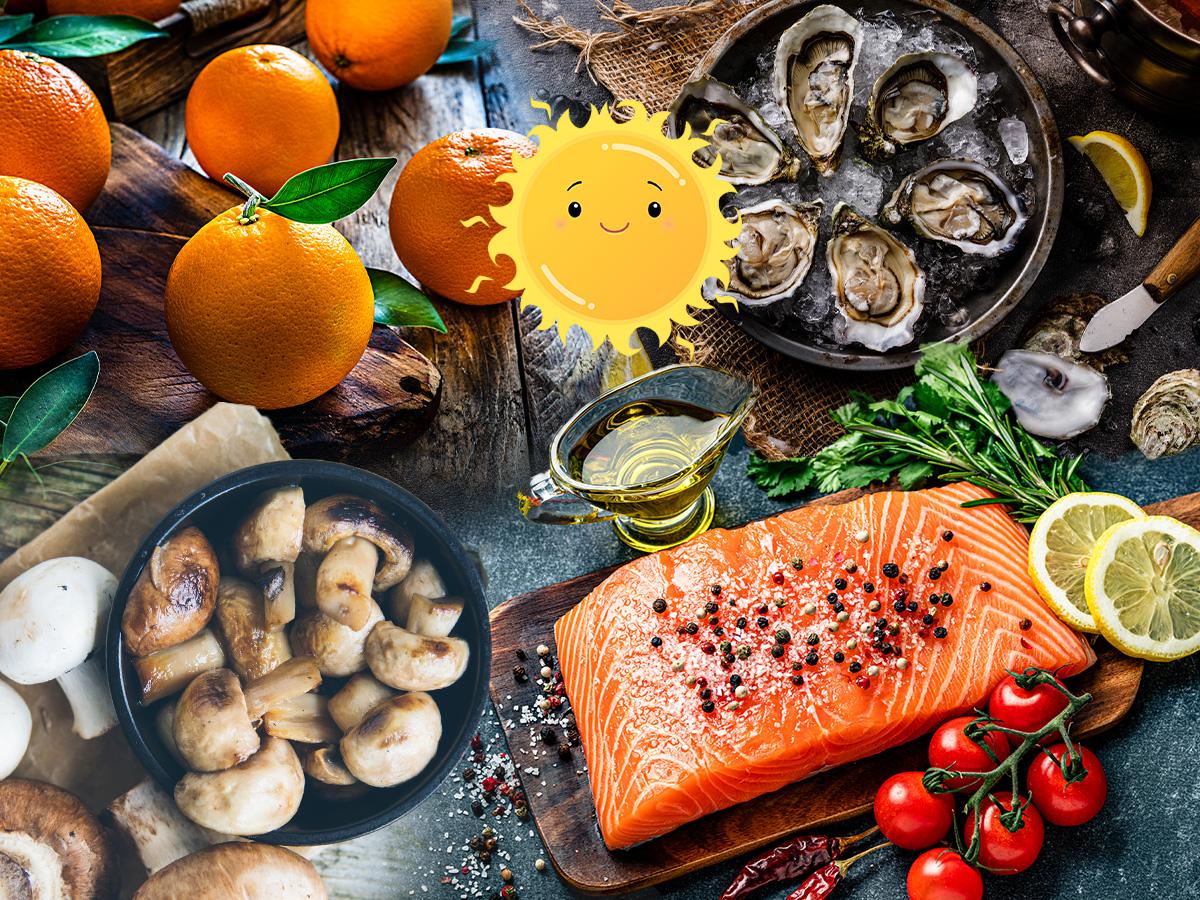 Βιταμίνη D: 7 τροφές για να την προσφέρεις στον οργανισμό σου