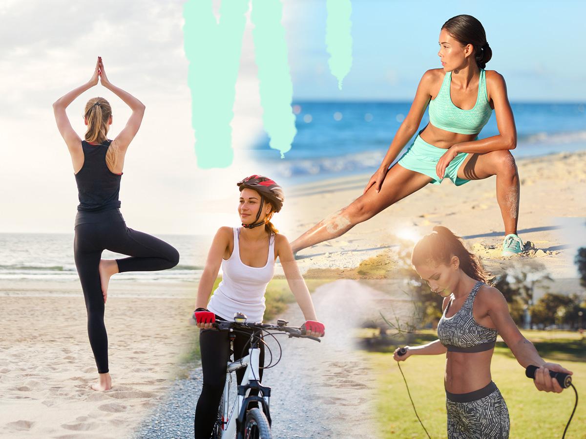 Γυμναστική το καλοκαίρι: Πρακτικές συμβουλές για να αθληθείς σωστά