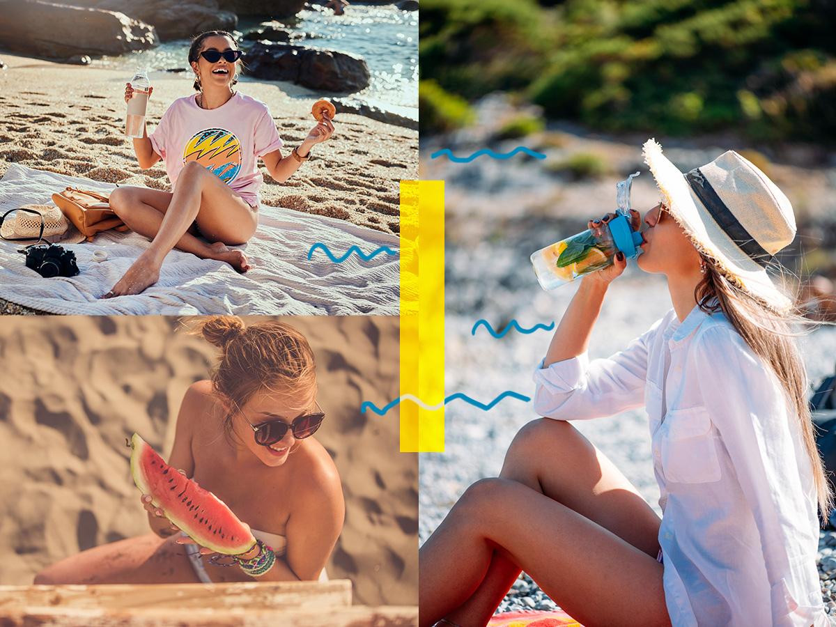 Ετοιμάζεσαι για παραλία; Τα light σνακ που δεν πρέπει να λείπουν από την τσάντα σου