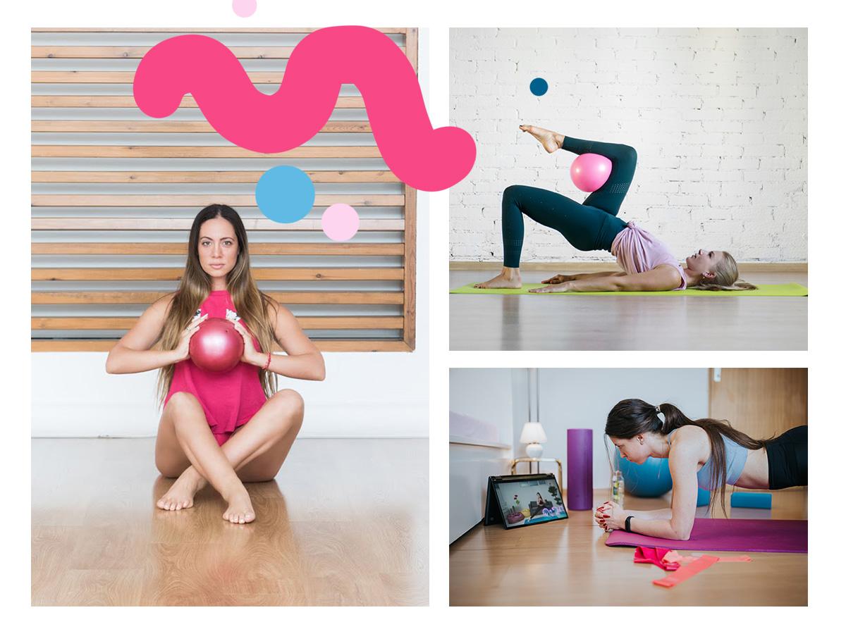 Καλοκαιρινή γυμναστική: Ασκήσεις για όλο το σώμα με τη βοήθεια μίας μικρής μπάλας