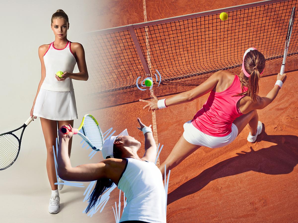Τένις: Σε αδυνατίζει και σου φτιάχνει τη διάθεση. Τι άλλο σου προσφέρει;