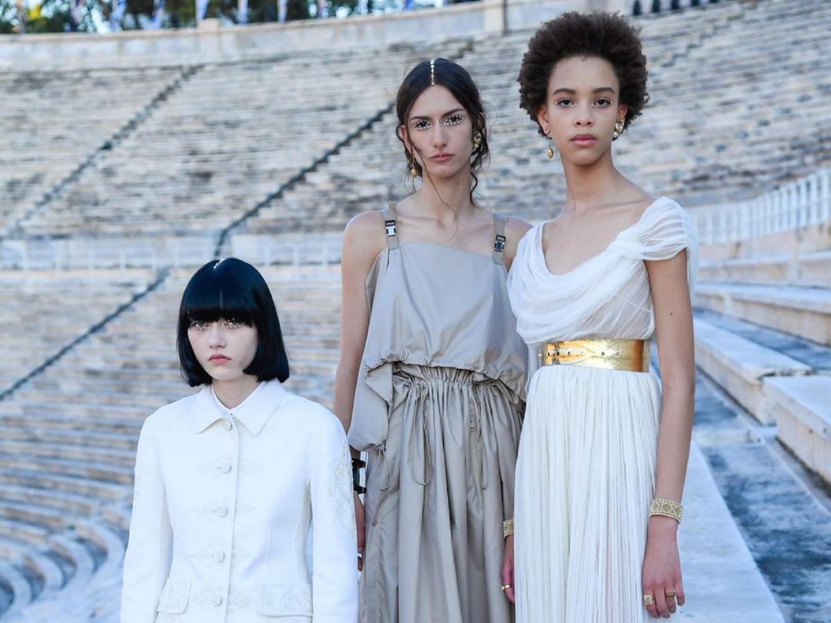 Δες τo εντυπωσιακό show του οίκου Dior στο Καλλιμάρμαρο