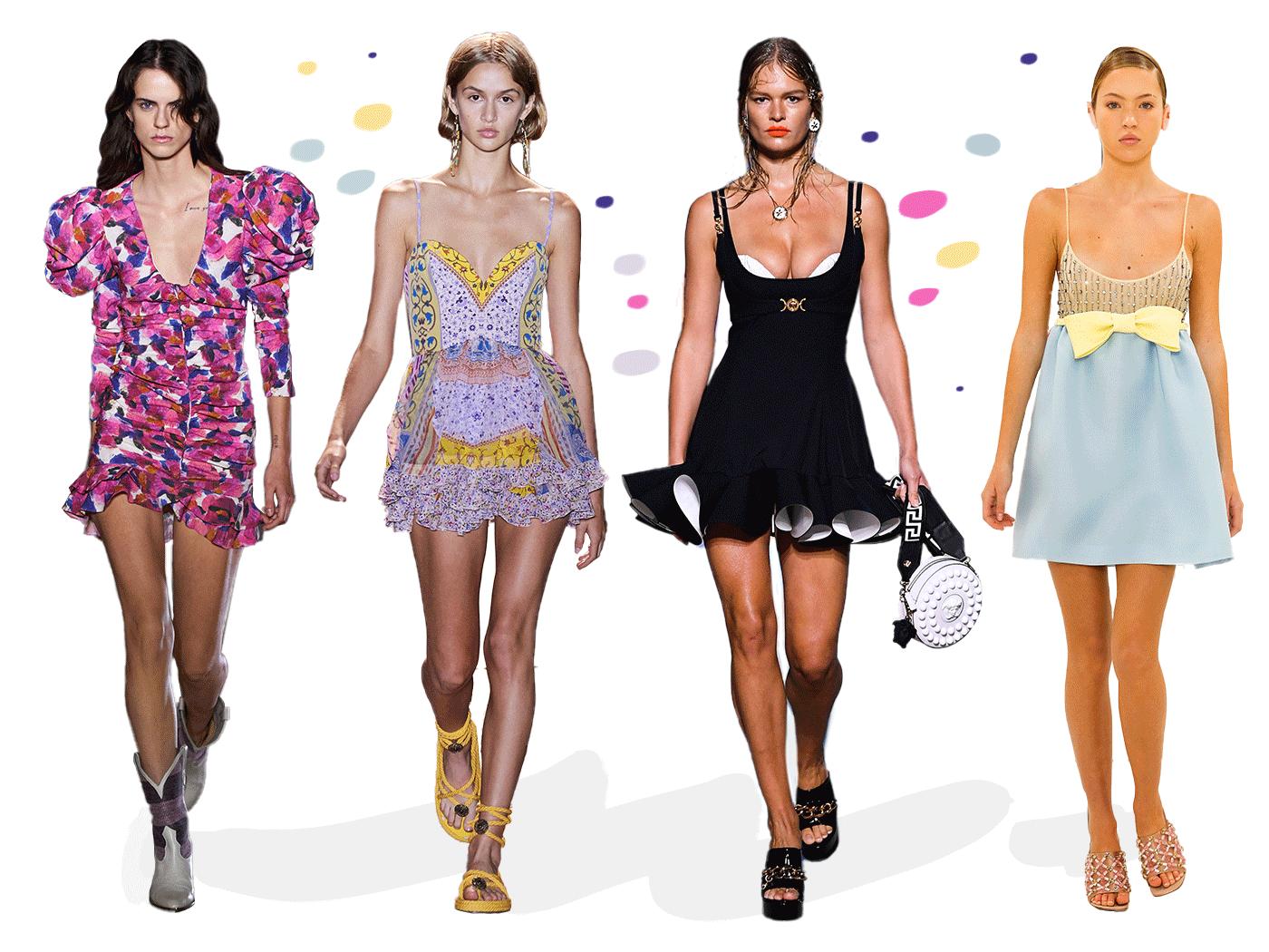 Mini φορέματα: Έφτασε η εποχή να αναδείξεις τα υπέροχα πόδια σου