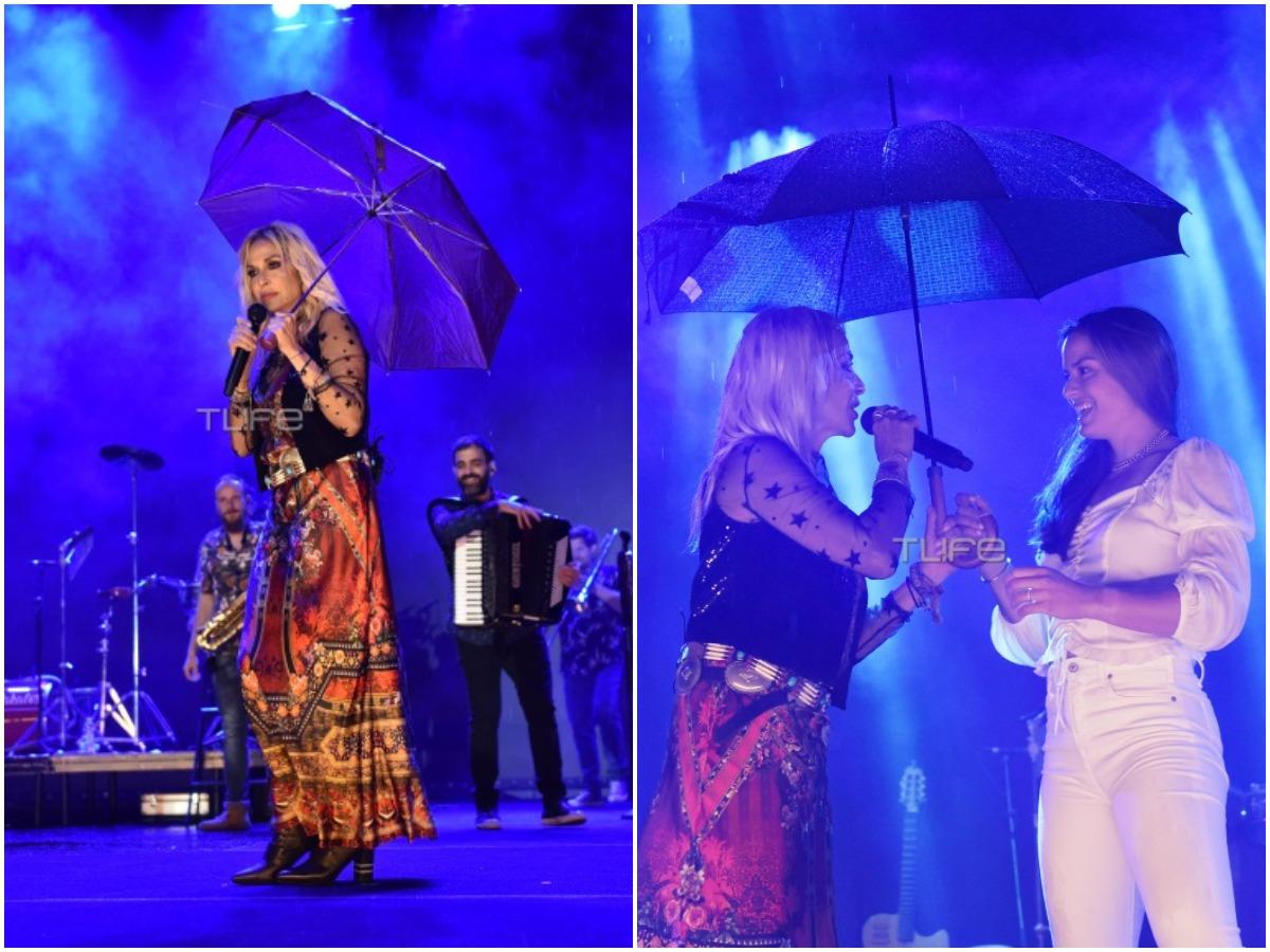 Άννα Βίσση: Το TLIFE στη συναυλία υπό βροχή – Η μεγάλη έκπληξη από τη Μαρία Σάκκαρη
