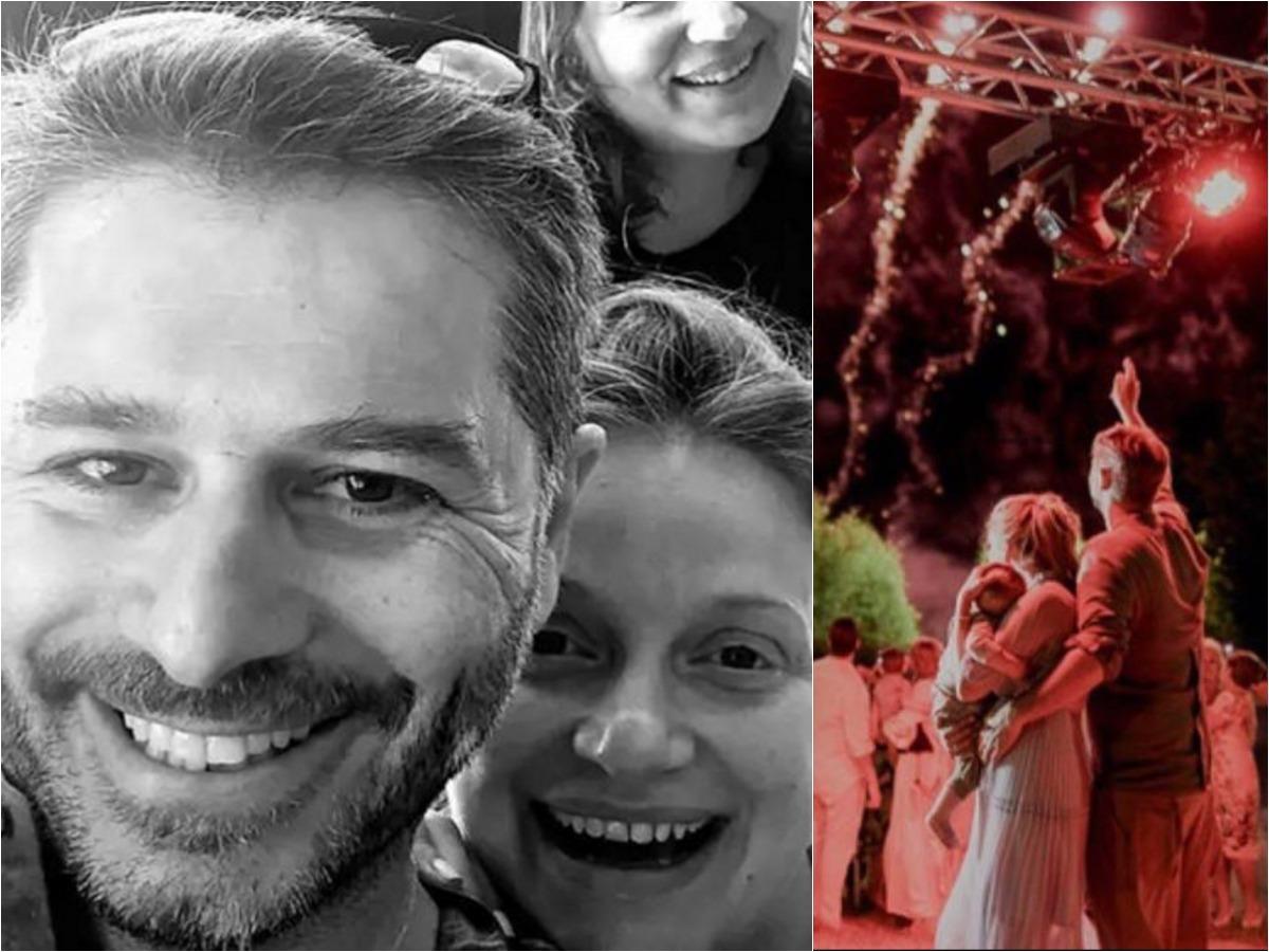 Αλέξανδρος Μπουρδούμης – Λένα Δροσάκη: Βάφτισαν τον γιο τους, υπό άκρα μυστικότητα