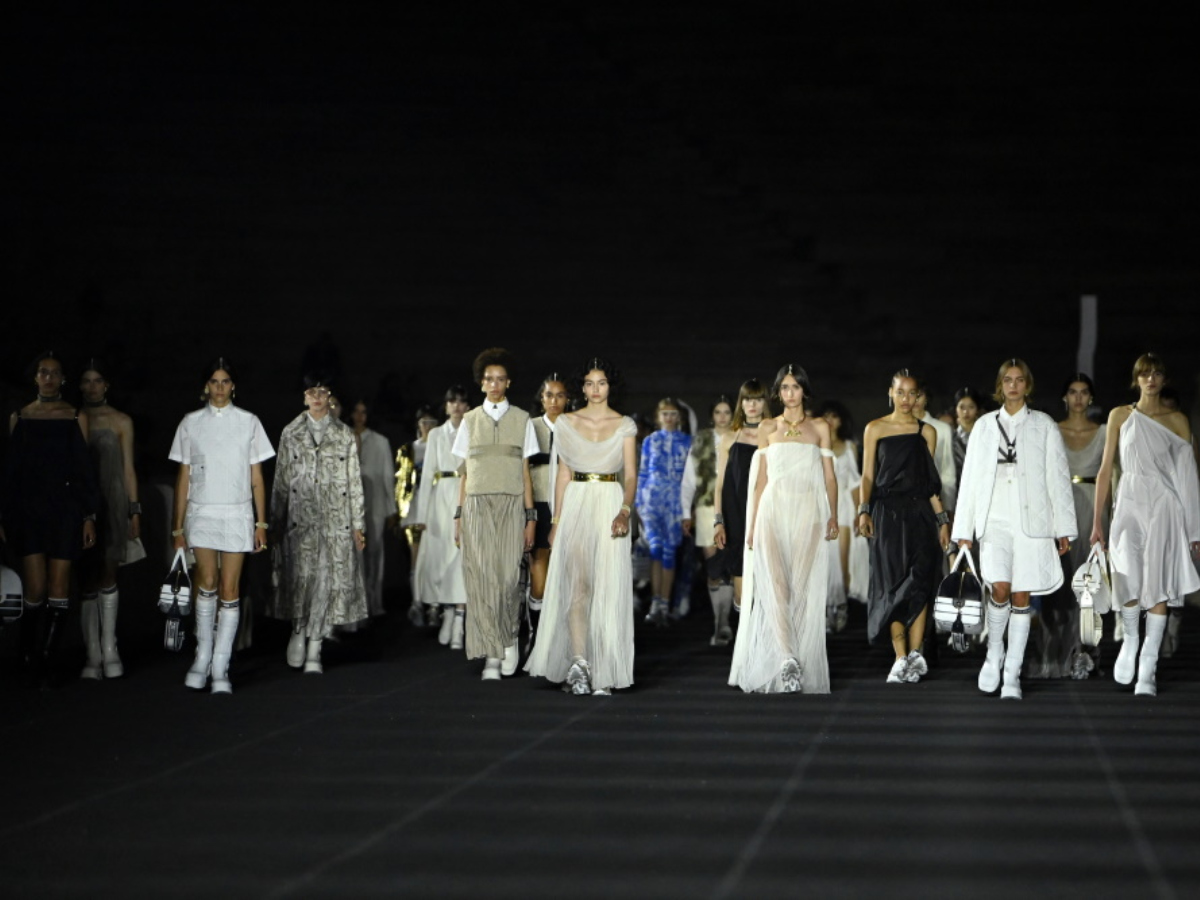 Dior show: Όλα όσα έγιναν λίγο πριν την έναρξη