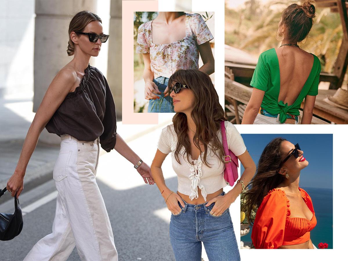 Τα καλοκαιρινά top που έχουν όλες οι fashionistas στην ντουλάπα τους