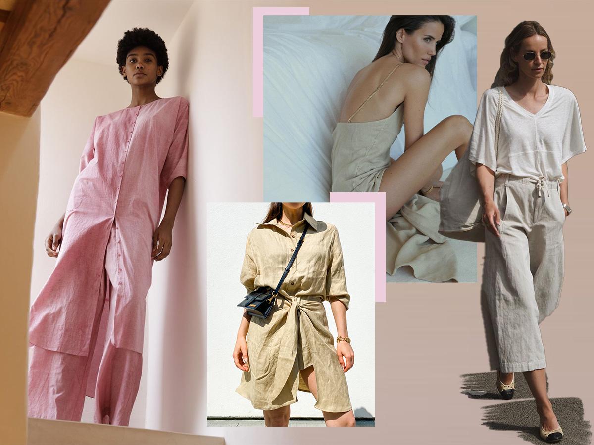 Λινά: Τα δροσερά και άνετα ρούχα που φοράμε κάθε καλοκαίρι